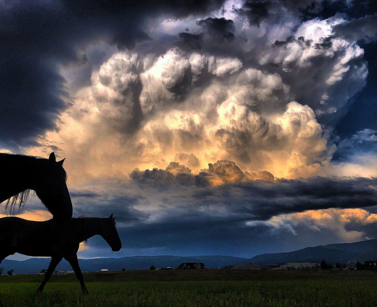 Thunderstorms roar through Bitterroot Valley