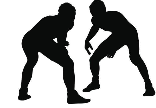wrestling stockimage