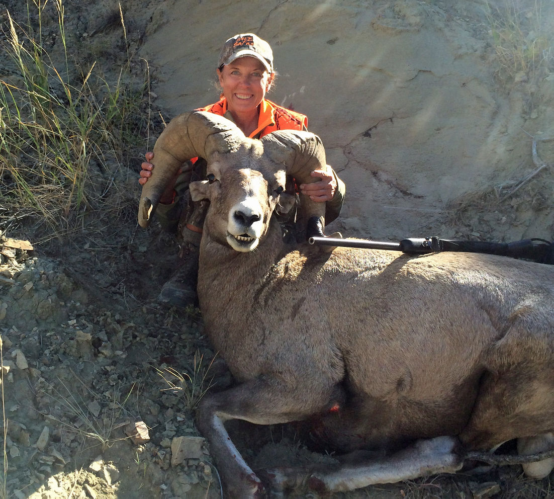Two tags filled: Woman harvests ram, mountain goat one week apart