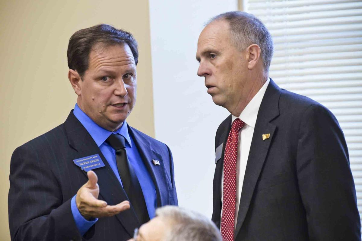 Derek Skees (R-Kalispell), chairman of the House Rules Committee,