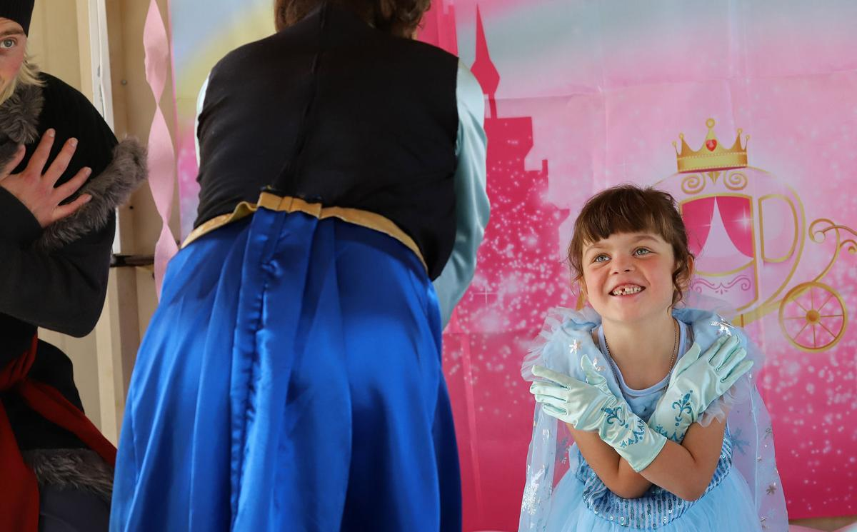 Princess for a day: Make-A-Wish, sheriff and Fairy Godmothers bring joy to Stevensville girl
