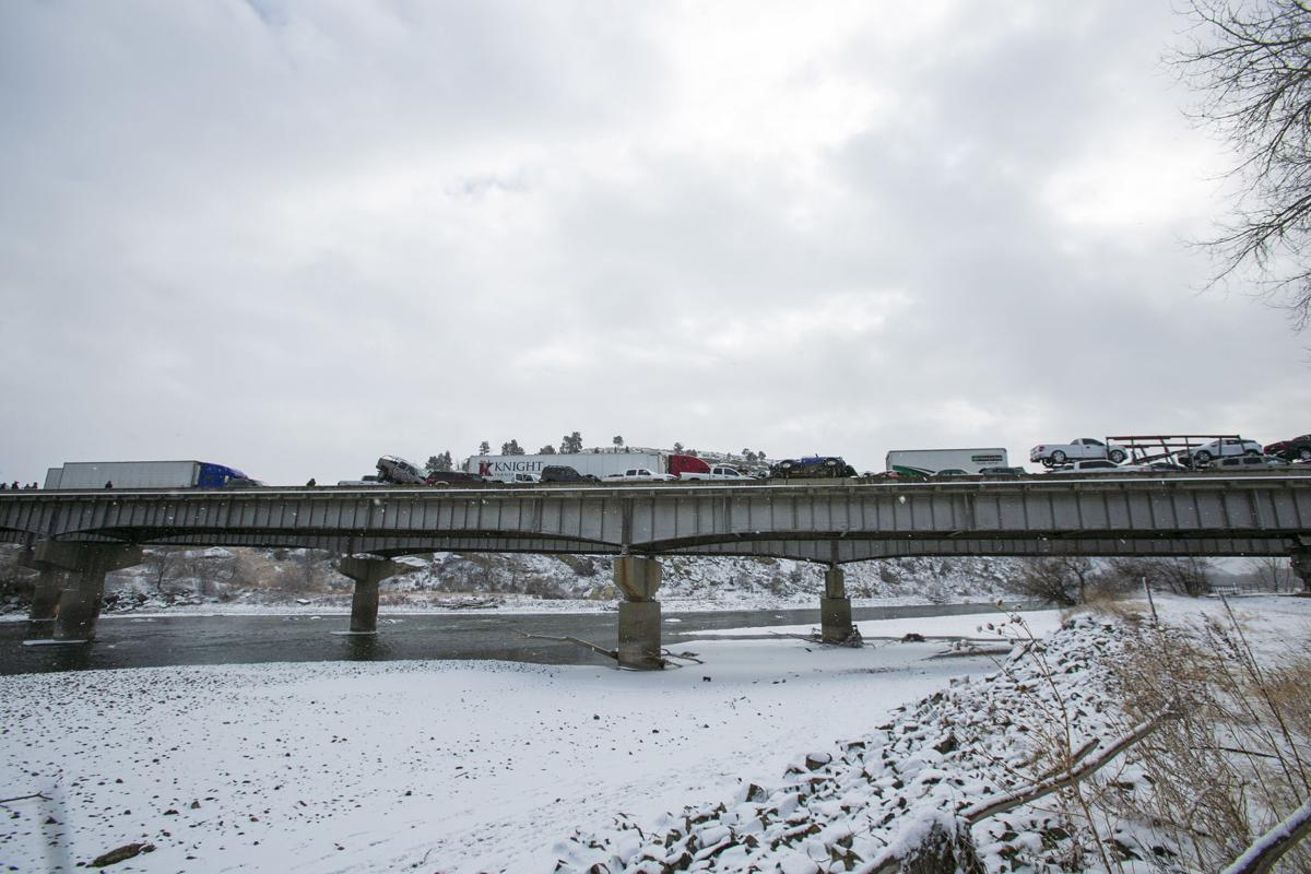 Yellowstone Bridge pileup