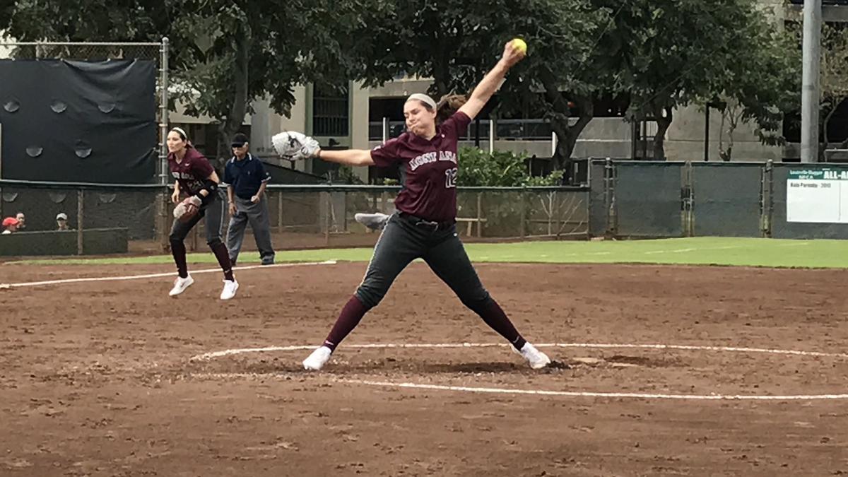 Griz softball at O-State