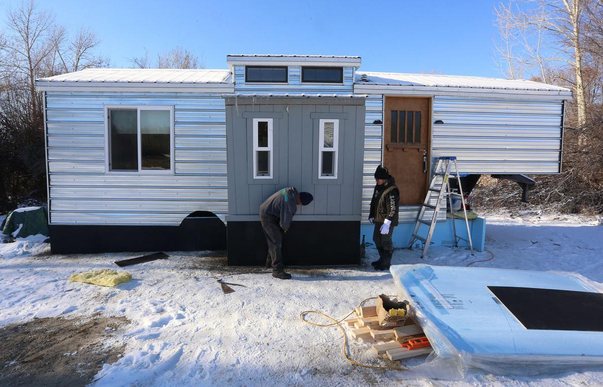 Tiny house, bigger lives: Couple finds new freedom in small places