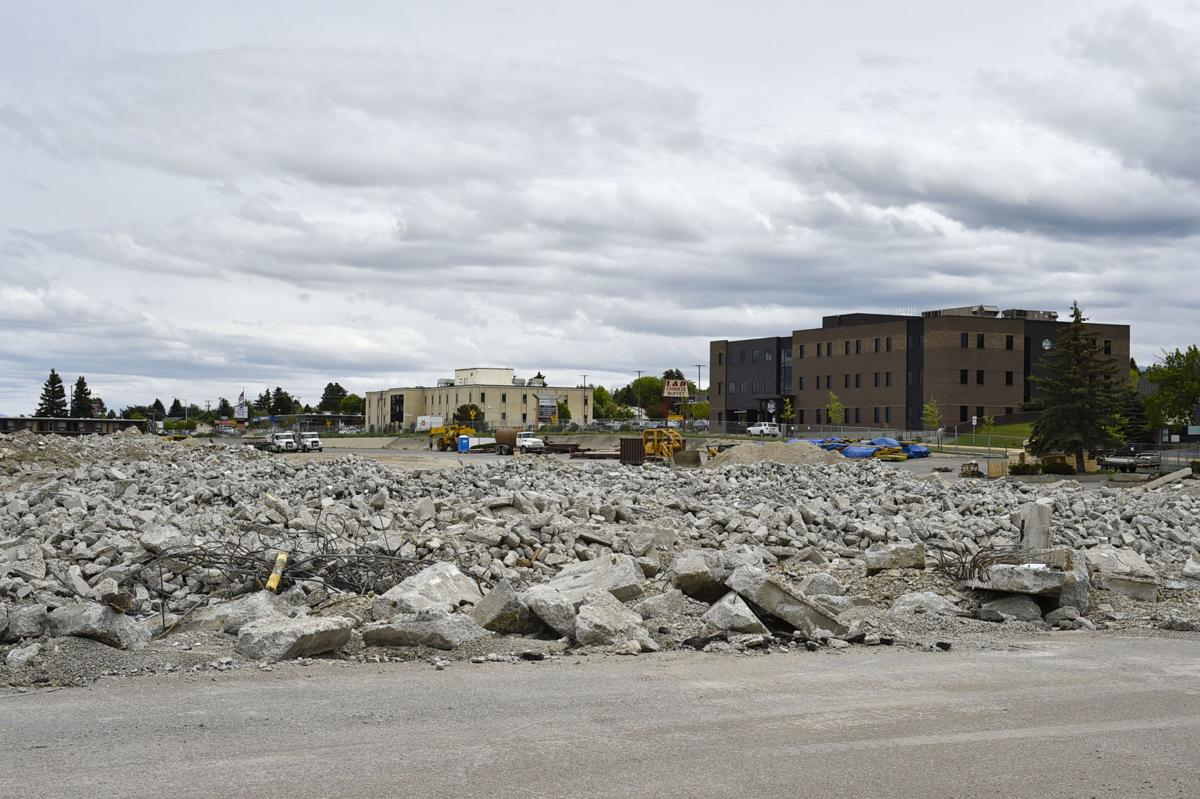 What is left of the Capital Hill Mall
