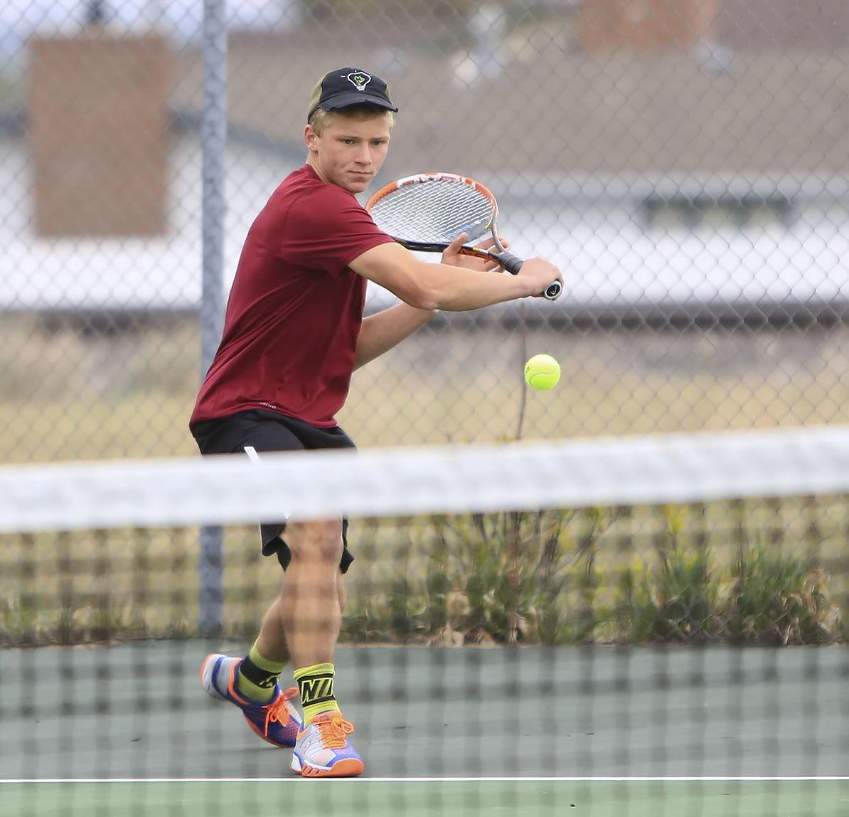 tennis; state tournament