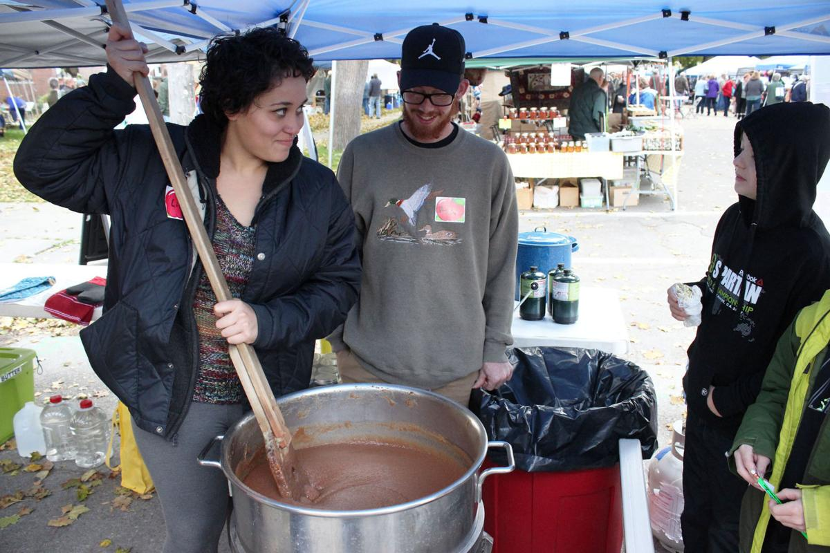 Apple Day cauldron