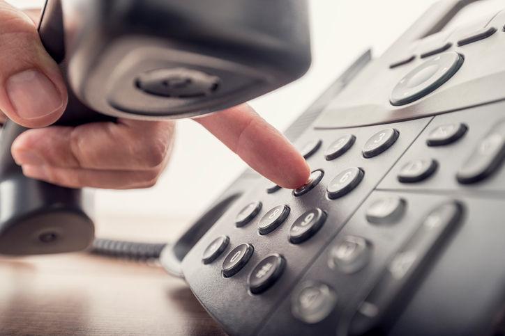 Land line phone