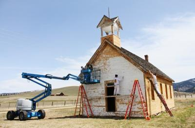 New old school: Sula schoolhouse being restored by historical society