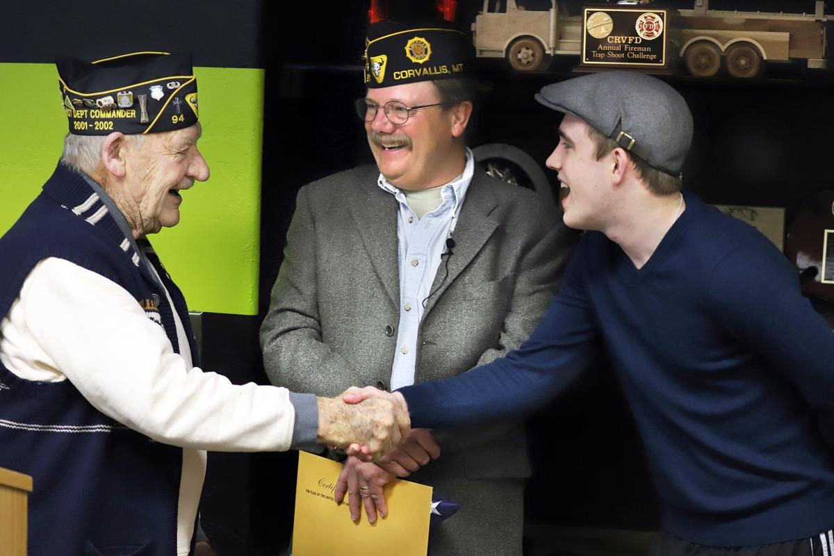 Corvallis' Doug Mason honored