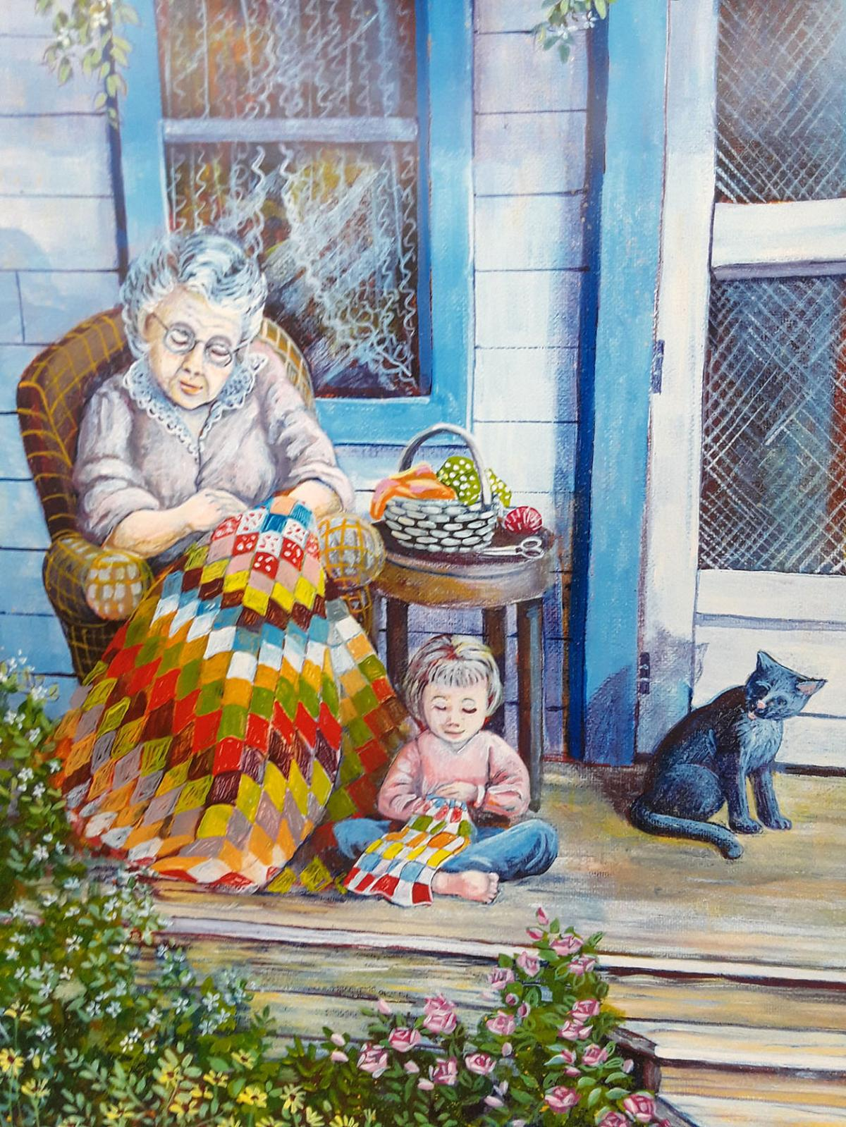 A Passion For Patchwork Marilyn Stromberg To Be Featured