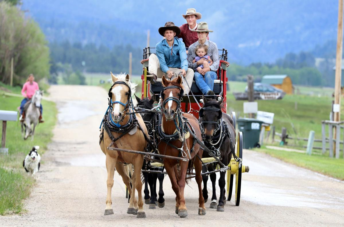 Border to border: Corvallis stagecoach will traverse the state