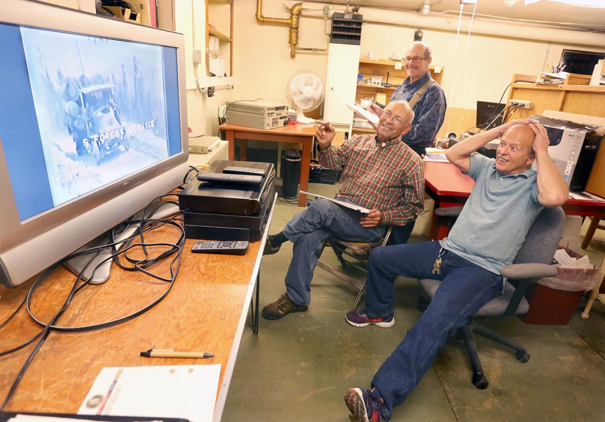 Saving history: Men work to preserve Ravalli County Museum video collection