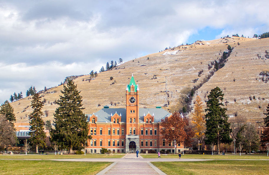 Main Hall, University of Montana file