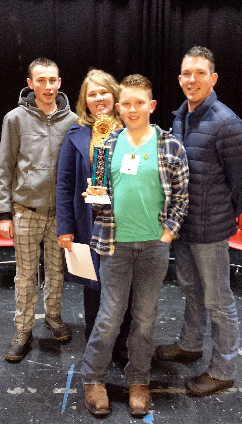 RC Spelling Bee Ian and family