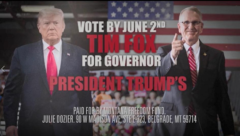 Montana Freedom Fund ad