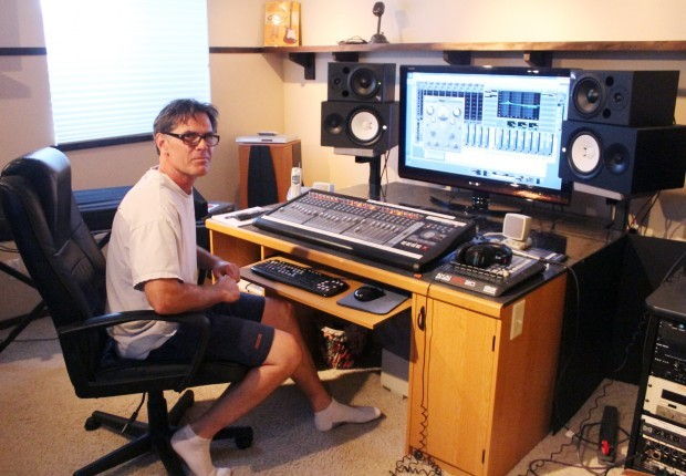 Sounds like fun: Corvallis man gets a kick out of recording and mixing music