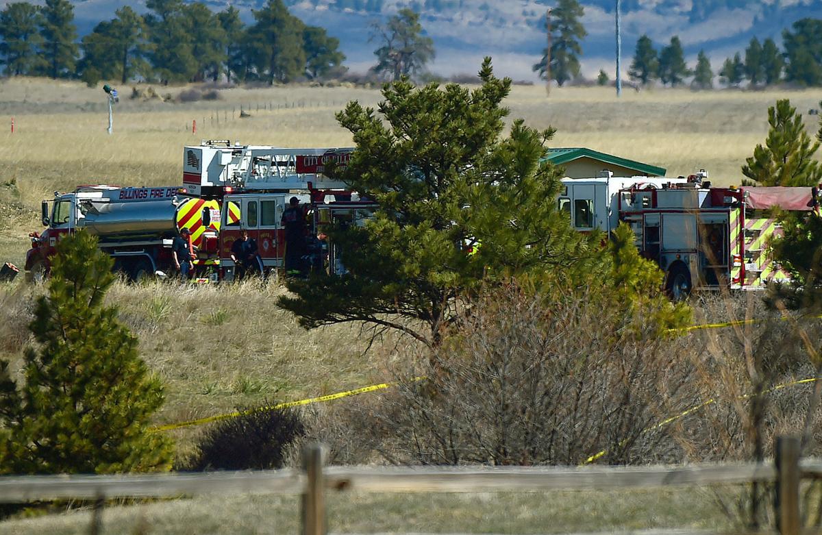 Plane crash in Heights