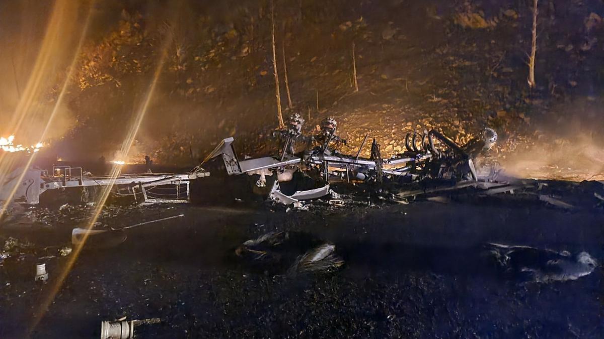 Tanker Crash