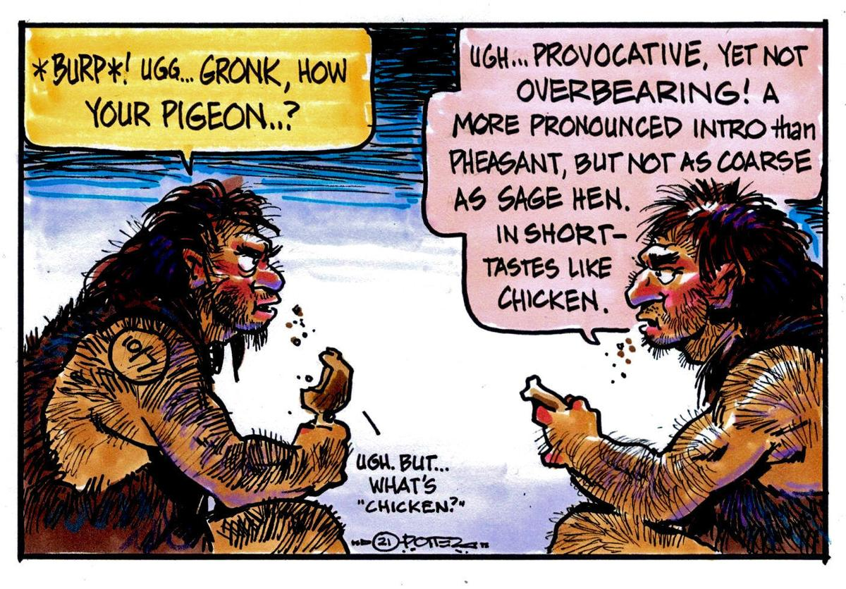 Caveman chicken