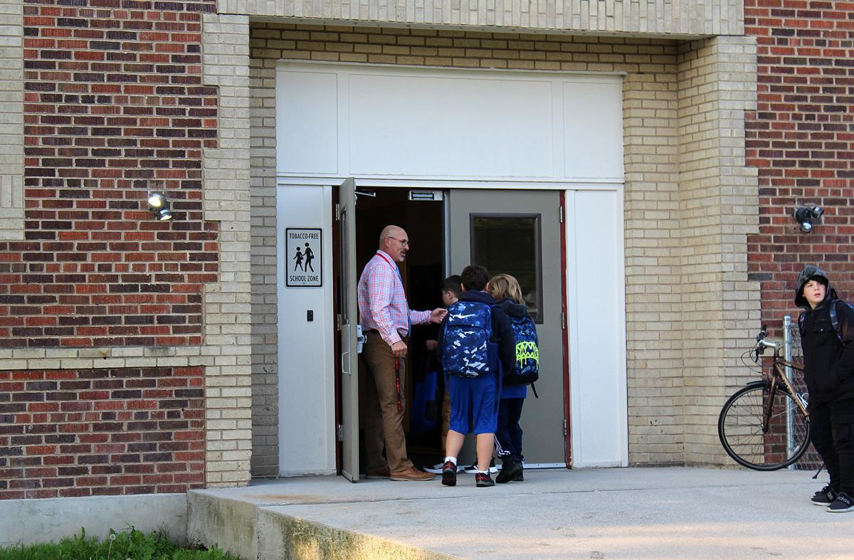 First Day of School in Hamilton, Darby