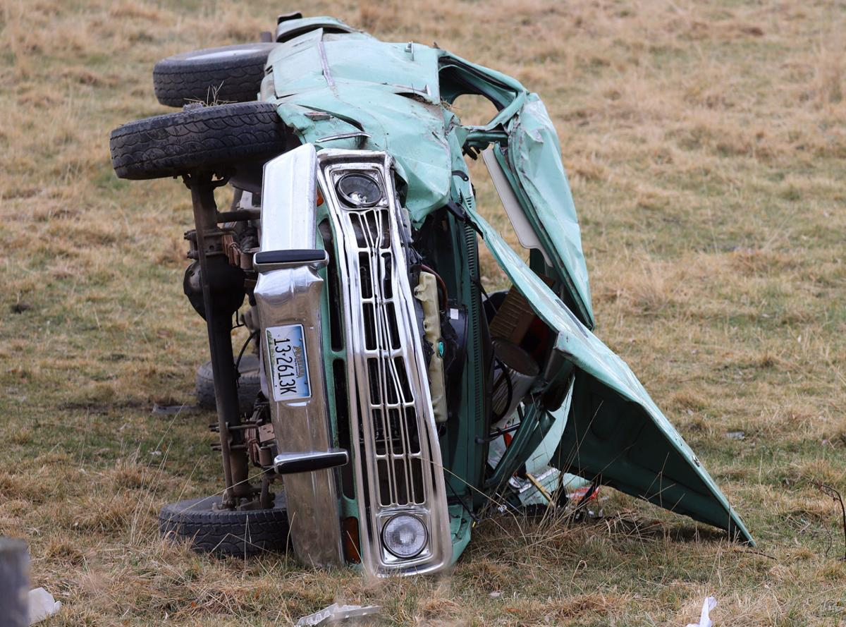 Icy roads cause five wrecks Wednesday