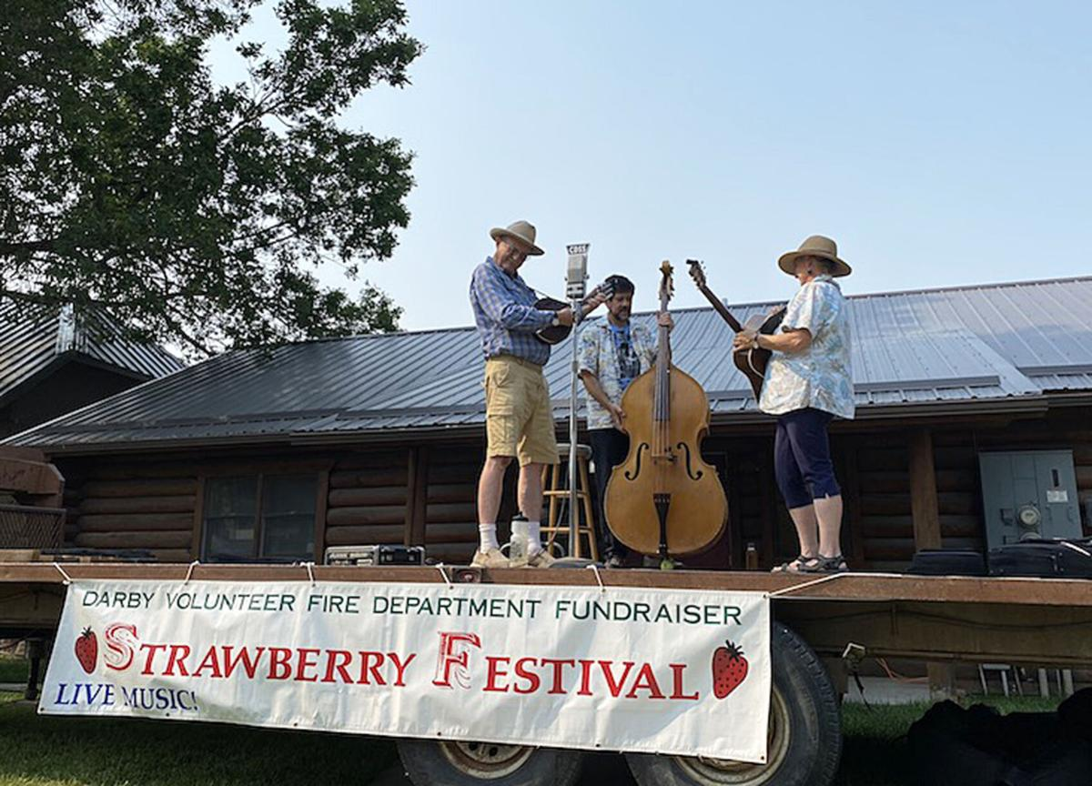 Darby Volunteer Fire Department Hosts Strawberry Festival