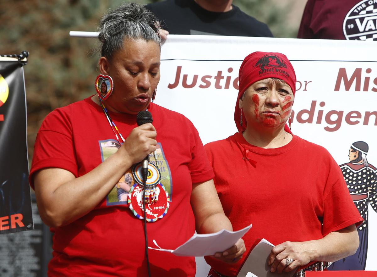 Missing and Murdered Indigenous Women's March