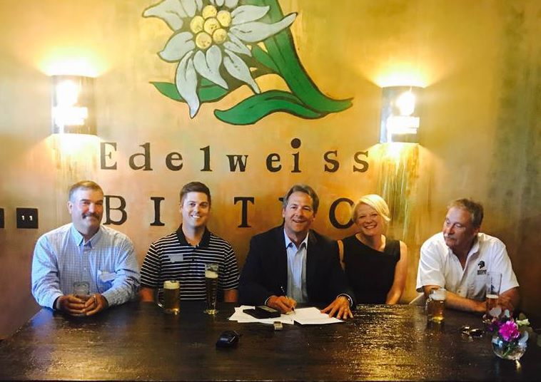 Brewery bill signing