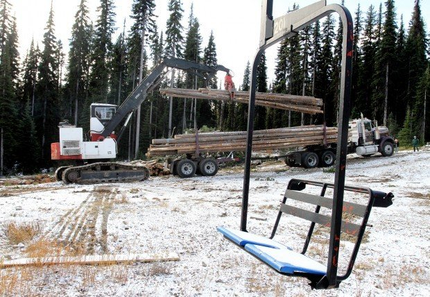 Skiing the trees: Thinning project opens up new terrain for skiers at Lost Trail