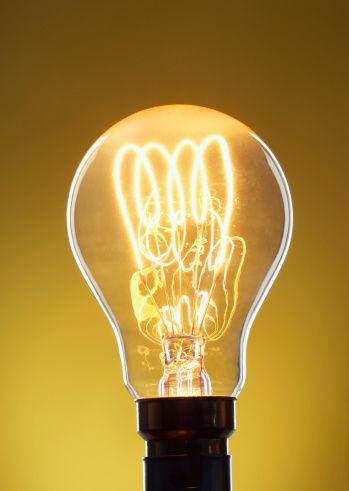 light bulb, stock