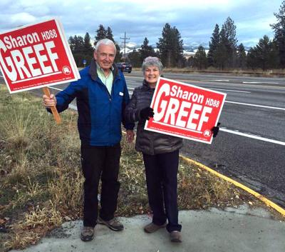 Ed and Sharon Greef