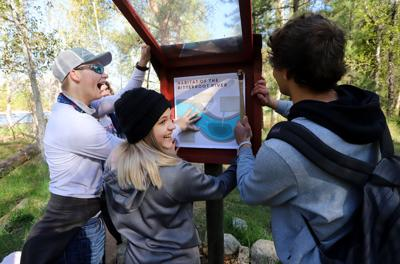 Trail knowledge: Corvallis class marks Teller Trail with new informational kiosks