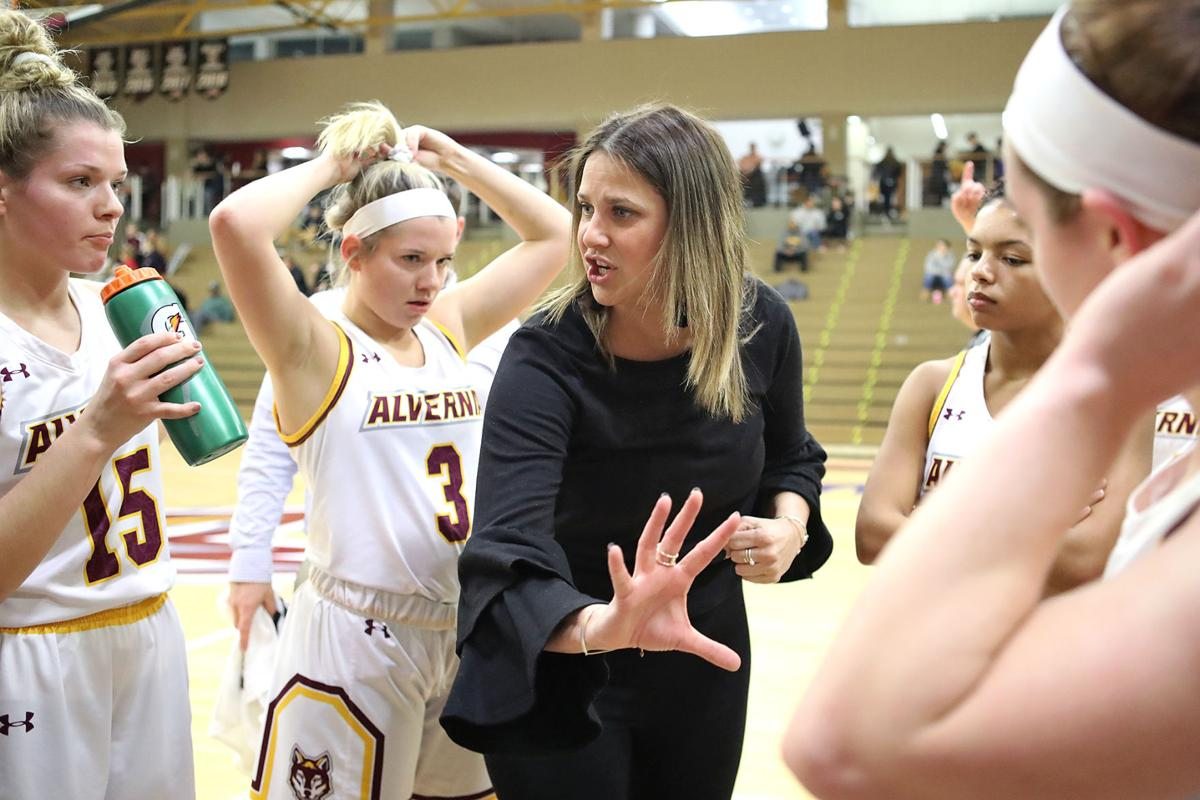 Alvernia University Womens Basketball Head Coach Rayne Reber