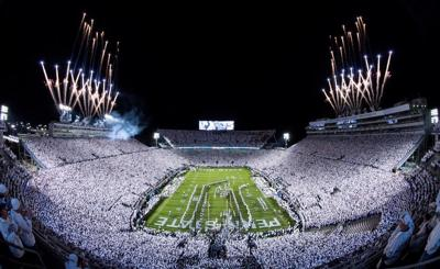 Penn State debuts at No. 4 in initial College Football Playoff rankings