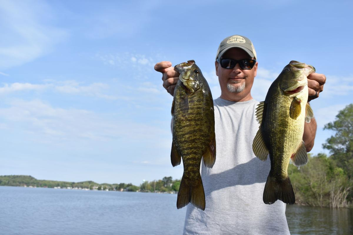 Bob Gwizdz Blind Fishing And Beset By Rock Bass Go Record Eagle Com