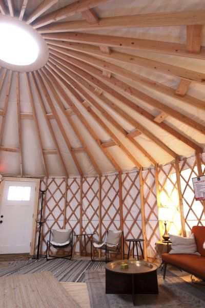 Cool Vibes: The Little Fleet looks to yurt to extend 'outdoor' season