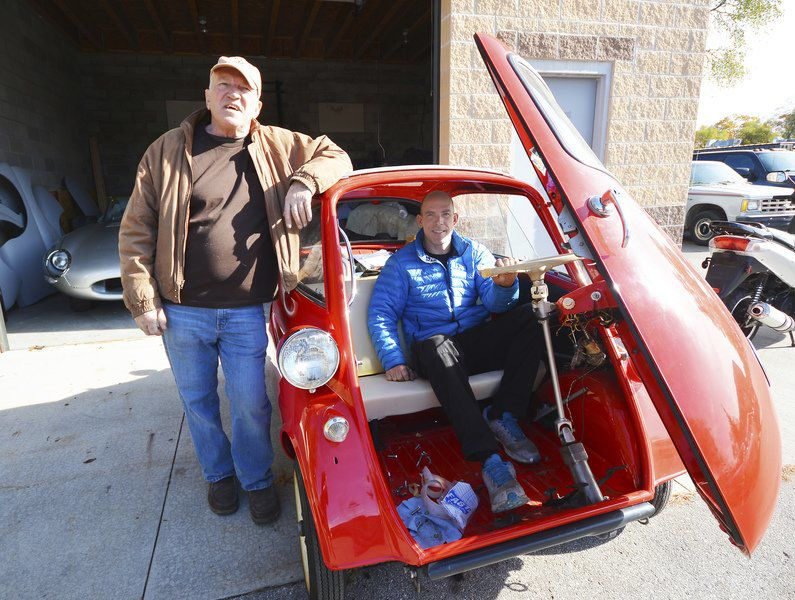 Garfield Auto: Father-and-son team turns old cars into new
