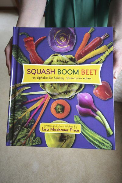Author to kids: Enjoy your vegetables
