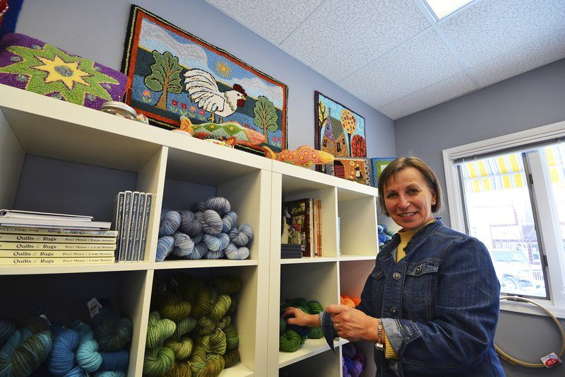 Dyeing for a living in Elk Rapids