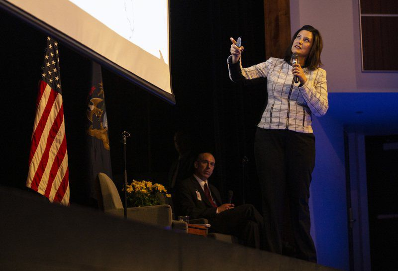 Whitmer Pitches Budget, School Funding