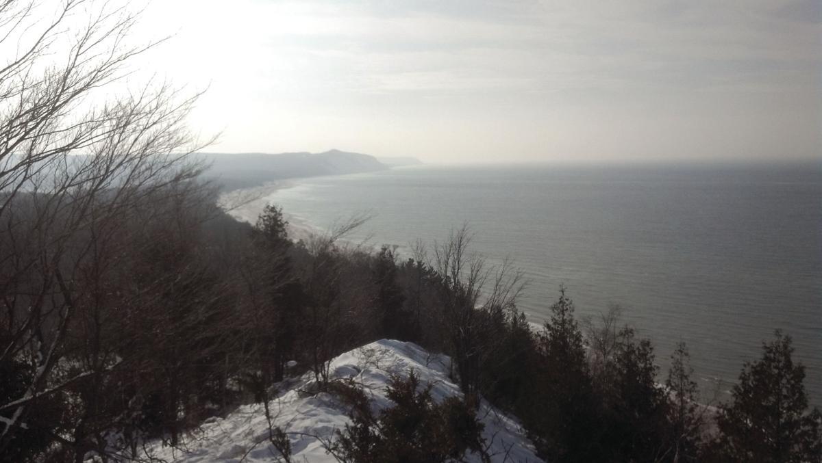 Green Point Dunes overlook winter photo
