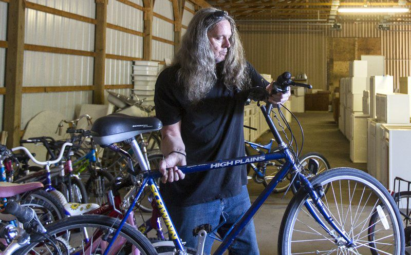 Supporters donate to bike ministry after theft