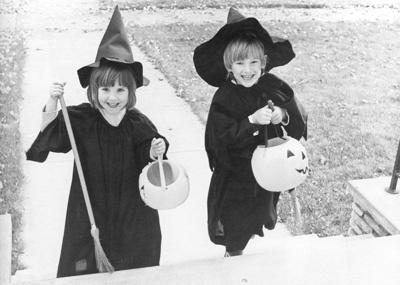 Historical photo: Do you know these trick-or-treaters?