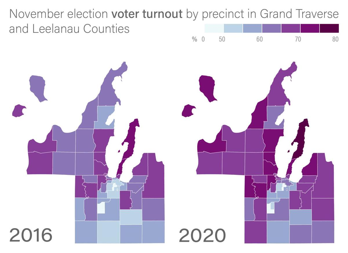 Voter turnout rates