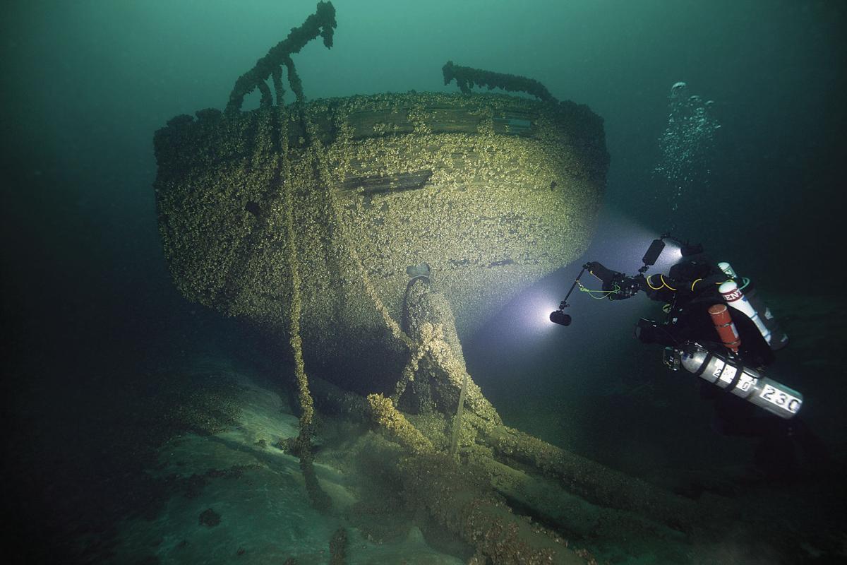 Lake Michigan shipwreck