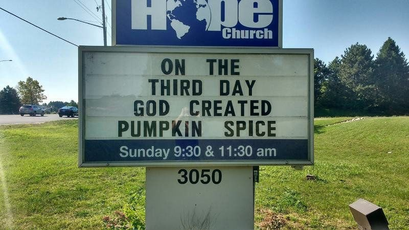 A sign from above: Churches drive home message with roadside signs