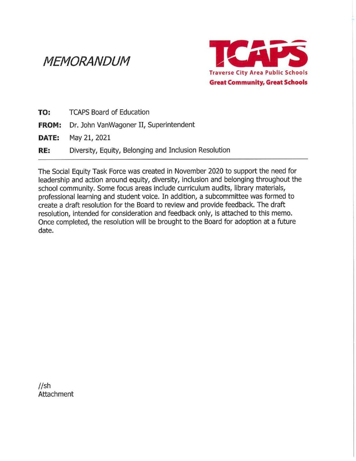 TCAPS Equity Resolution Draft 1