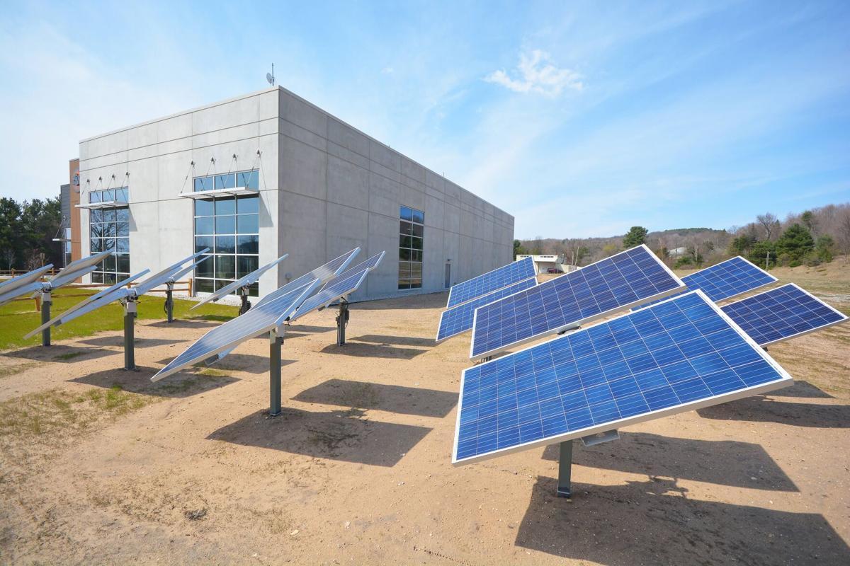 Solar panels at Stormcloud in Frankfort