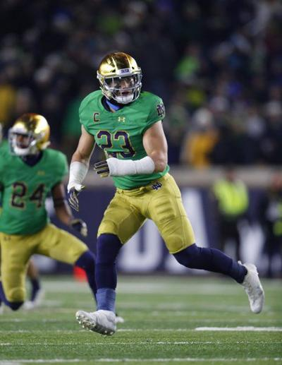 Nothing can stop Irish linebacker Tranquill